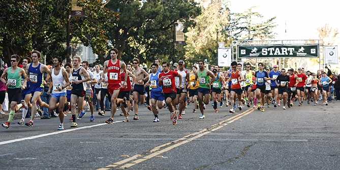 courtesy of Berkeley Half Marathon website