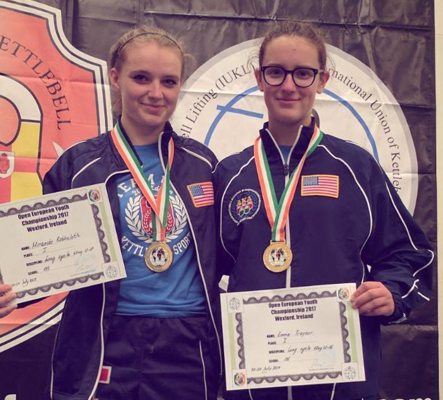 ICKB Girls take Gold in the European Open Youth Championships