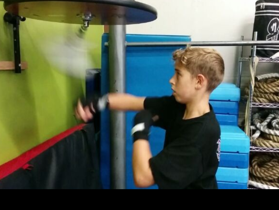 Boxing Speed Bag Work