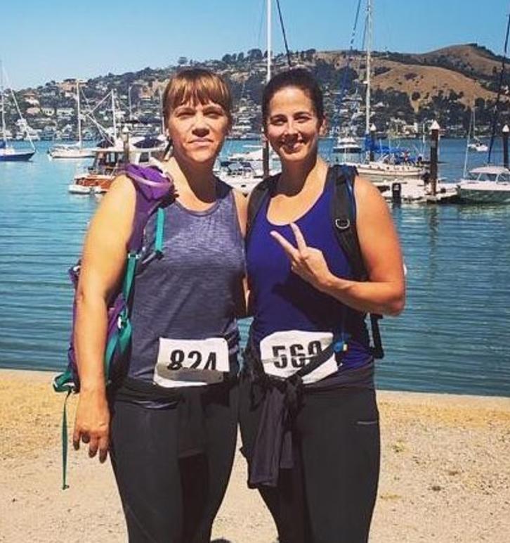 Sara and Surya Conquer a Half Marathon